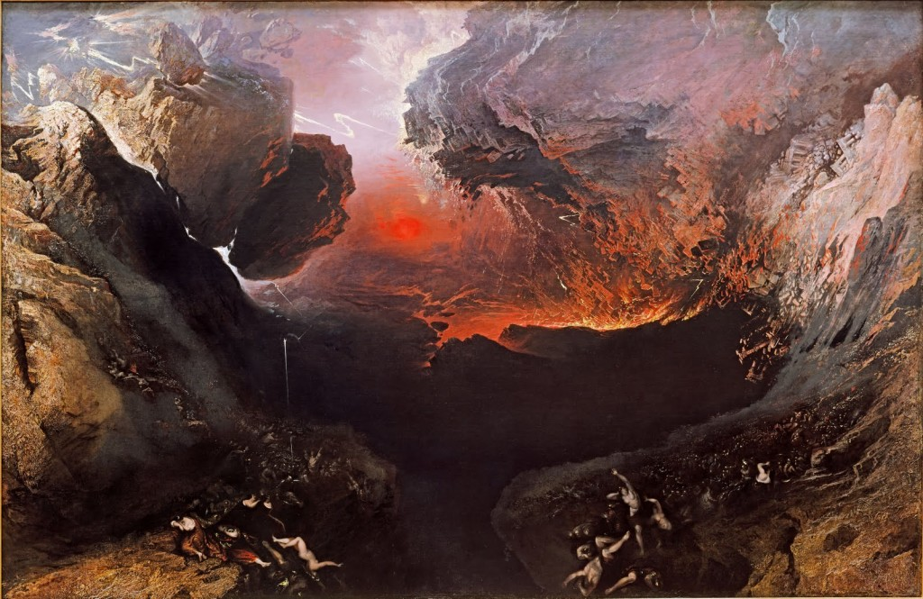 'The Great Day of His Wrath', John Martin 1853